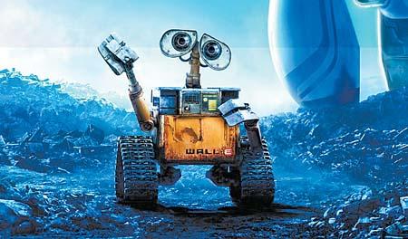 《瓦力》从片名到内容,几乎都与2008年上映的动画片《机器人瓦力》