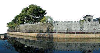 川沙明代古城墙 资料照片