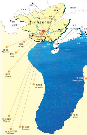 柳州市海关路地图
