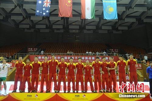 中国男排:获得奥运入场券便是胜利