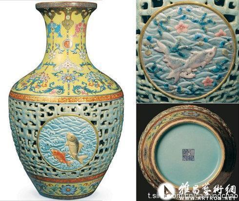 4.3亿北宋书法作品和6亿清朝乾隆粉彩花瓶