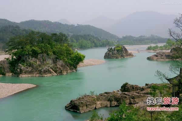 楠溪江风景