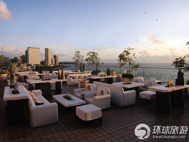 孟买,海滨大道洲际酒店:天空酒吧
