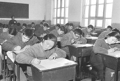 组图:中国高考制度建立60周年