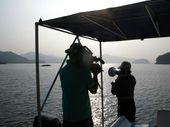 图文:《体育的力量》第一集 拍摄赛艇队训练