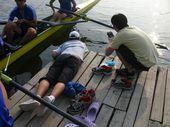 图文:《体育的力量》第一集 使用水下设备拍摄