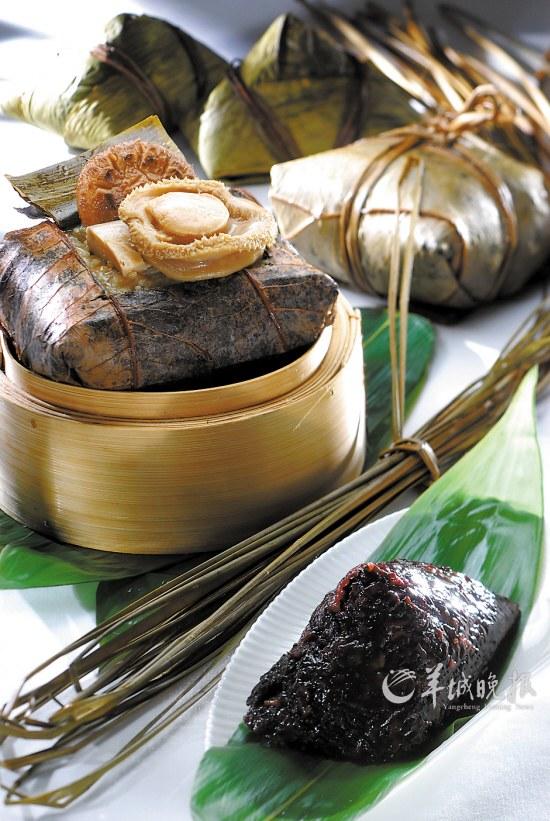 香港洲际粤菜旗下米其林一星级酒店鲍鱼欣图轩推出售价粽,每个餐厅吃鹅肉会拉黑便吗图片