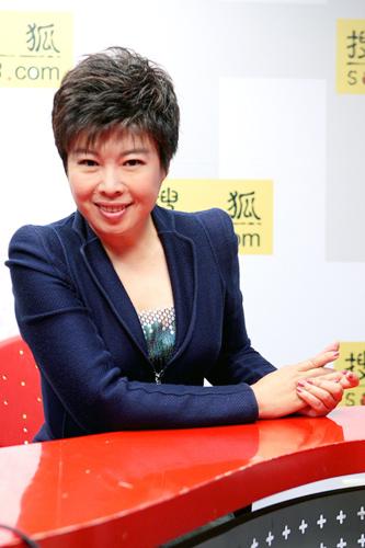 著名文化学者、北京师范大学教授于丹