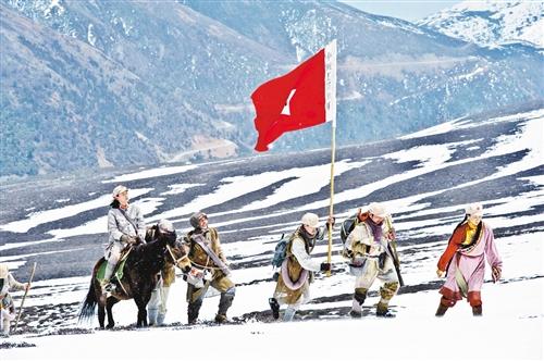 长征视频:雪山爬草地过红军到底v视频了战故事分身术图片