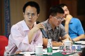 图文:搜狐奥运报道团成立 苏原平发言
