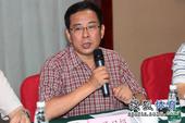 图文:搜狐奥运报道团成立 王霞光致辞