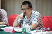 图文:搜狐奥运报道团成立 张艺发言