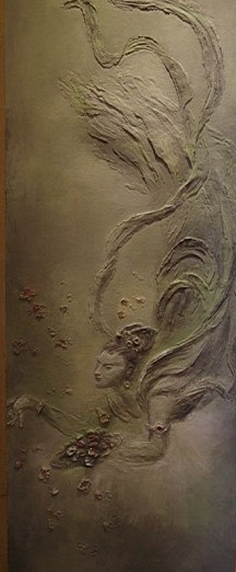 大津硅藻泥以感性行动支持墙画艺术创作