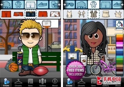 给通讯录添色彩 iphone漫画头像不单调