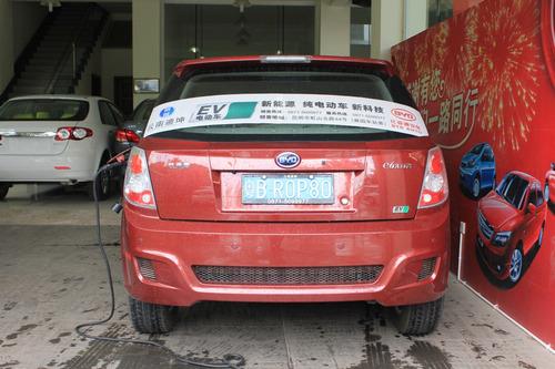 智能而环保 试驾比亚迪纯电动车e6先行者高清图片