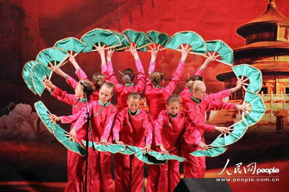 中国民间舞蹈表演