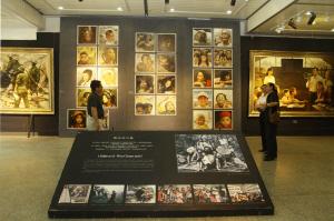 画展展厅图片