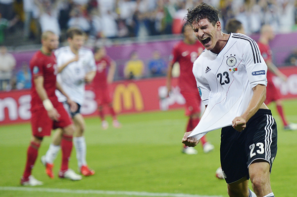 欧洲杯:德国胜葡萄牙 荷兰爆冷负丹麦(组图)-搜