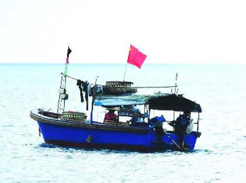 图5:中国渔民捕鱼图
