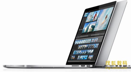 配备Retina视网膜屏的新款MacBook Pro