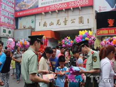 安徽蚌埠消防安全知识宣传教育从娃娃抓起[图