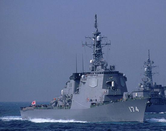 日本战舰欲进黄海试探中国底线 前线已推至京津