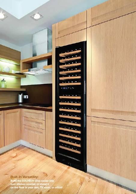 冰箱酒柜卡座一体效果图