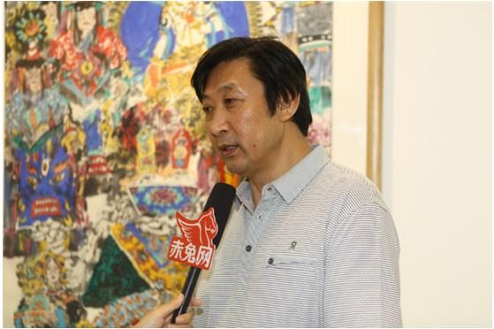 杨明个人画展(组图)图片