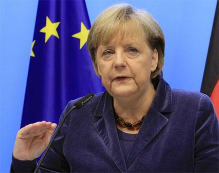 德国总理默克尔资料图