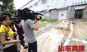 小佳儒溺亡的化粪池井 记者 潘炳 摄