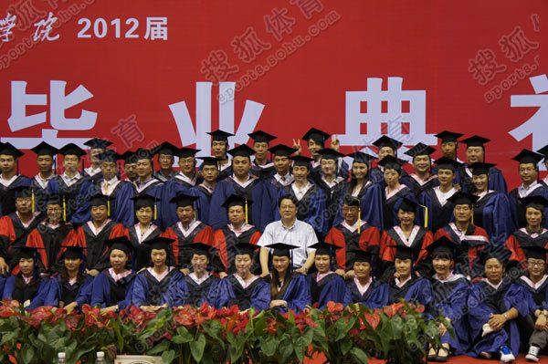 球员孟达顺利从南京体育学院毕业,据了解孟达是南京体育学院的