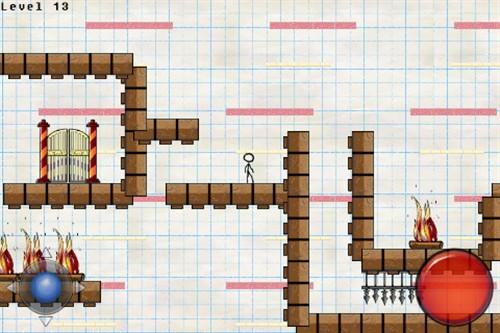 游戏中随着游戏的进行还会出贤新奇的游戏道具。这样游戏的自由行非常高,就好像是在纸上画画一样。