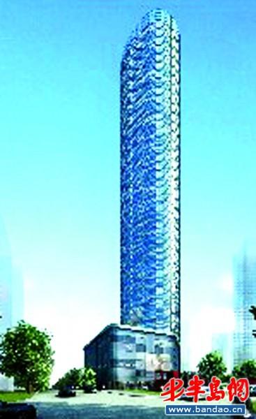连云港路66号国际航运中心大厦效果图