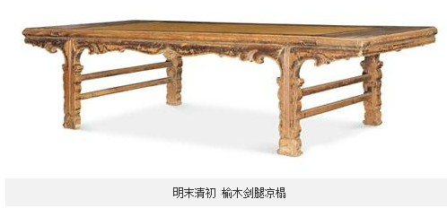 其中红木家具波澜不惊,高古柴木家具引起藏家关注,欧式家具则出现大量