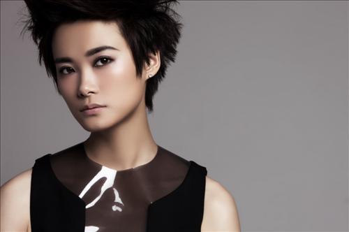资料图片:中国著名歌手李宇春。韩联社/韩国观光公社