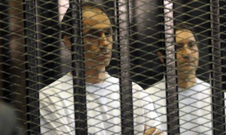 埃及前总统穆巴拉克的两个儿子