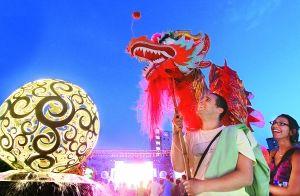 300余中外居民欢聚一堂,共享中国传统文化盛宴(北京日报 记者戴冰摄)