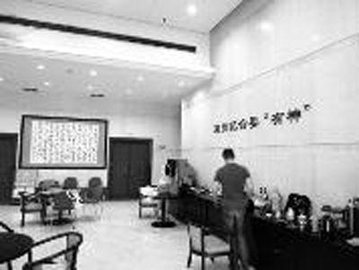 上海电影译制厂的办公环境