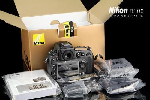 高像素全幅神机 尼康D800单机售25245元