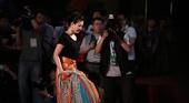 图文:付小芳四年世锦赛风采 在今年的开幕式上