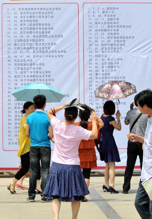 (教育)(1)南京高中志愿填报工作全面展开-搜狐好高中天津一对一哪里图片