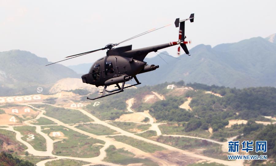 韩美举行最大规模联合火力演习 陆军空军齐出动(组图)