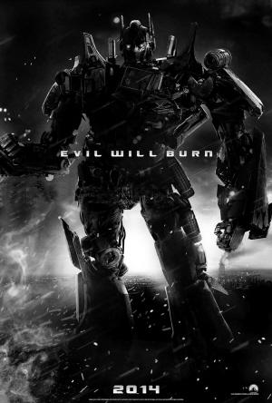 近日,网上出现了一张疑似《变形金刚4》的先行海报。