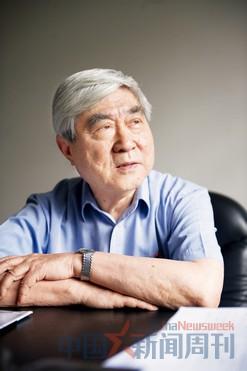 6月17日,戚发轫在北京中国空间技术研究院。摄影/本刊记者 廖攀