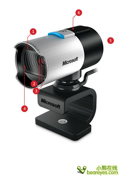 这款产品配备微软独有TrueColor真彩技术:几乎能在所有照明条件下自动拍摄鲜艳多彩的视频。