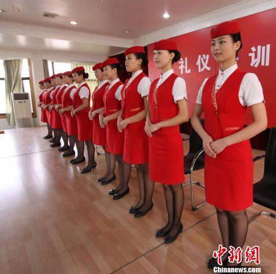 培训 女士 蹲 姿 站 姿 礼仪 1 女士 站