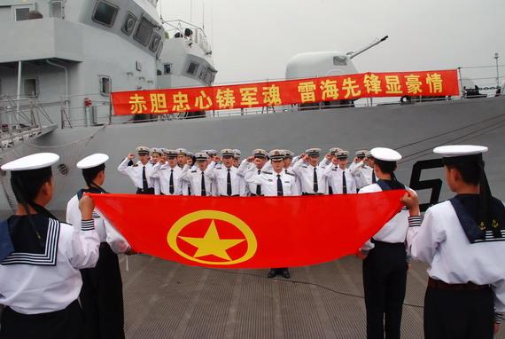中央军委八委员亮相 要求部队稳定坚决跟党走(组图)