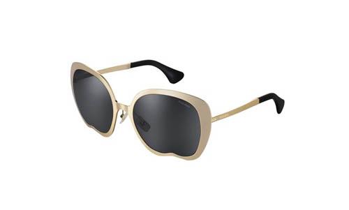 不规则镜框太阳眼镜