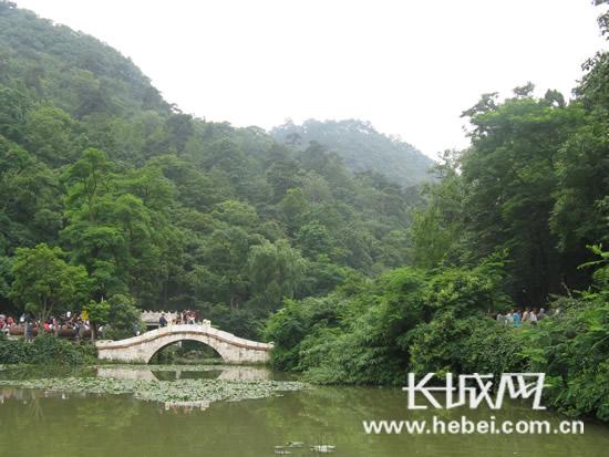黔灵公园看山水