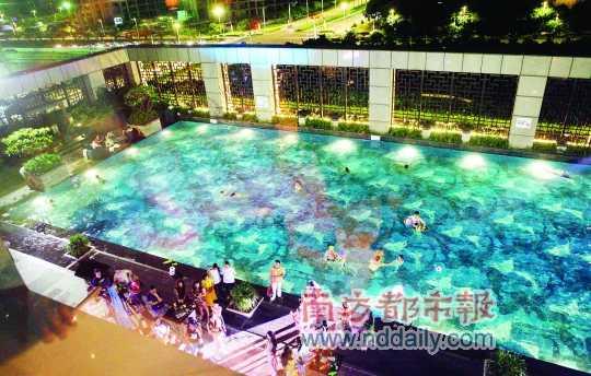 五星酒店包泳池来场欧洲杯party(组图)